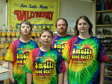 Smelly Good Stuffs Employees Get New Shirts T-Shirt Photo
