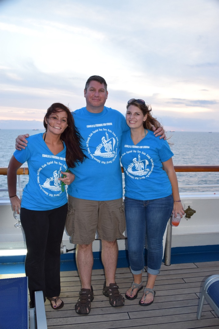 Family, Friends Fun Cruise 2014 T-Shirt Photo