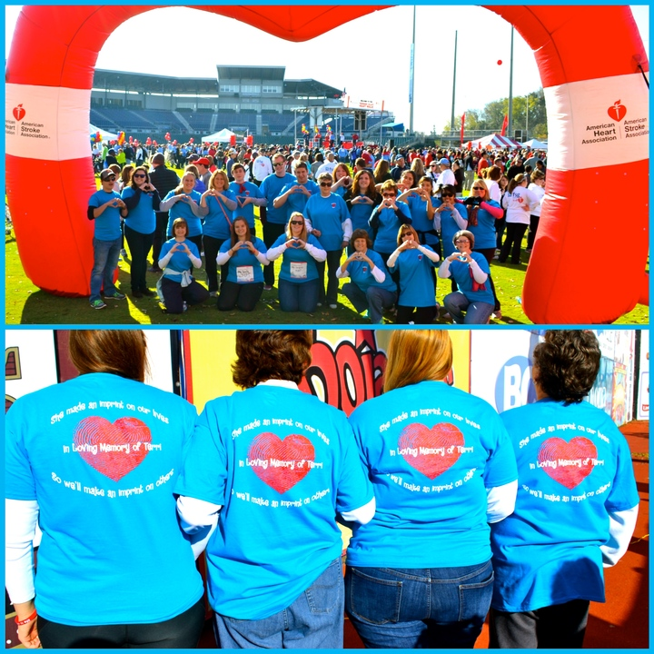 Heart Walk In Memory Of Terri T-Shirt Photo