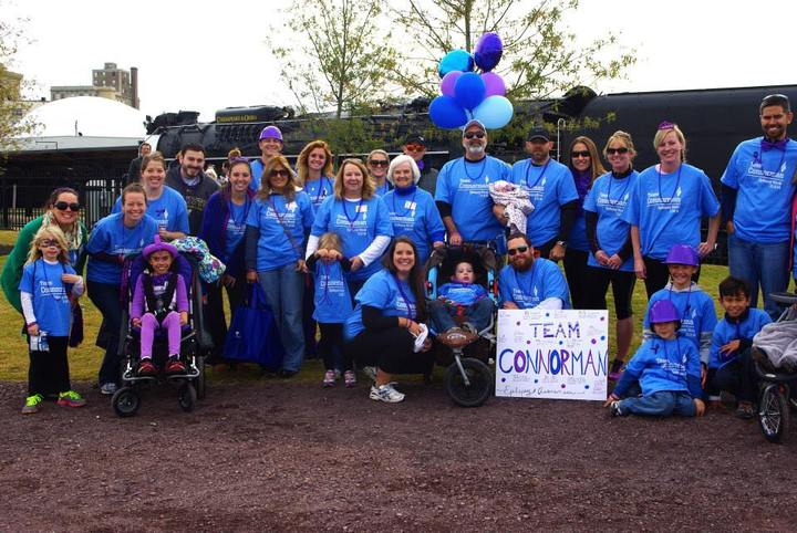 Team Connorman For Epilepsy Awareness T-Shirt Photo
