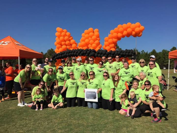 2014 Unkadi's Team Walk Ms The Woodlands, Texas T-Shirt Photo