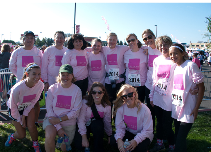 Team Ireland Stapleton Races For The Cure In Denver, Colorado T-Shirt Photo