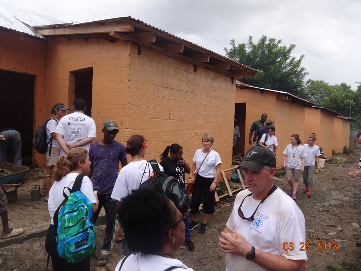 Missionaries Hard At Work In The Dr T-Shirt Photo