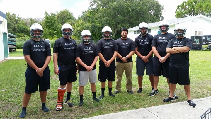 Beasts Of The Offensive Line T-Shirt Photo