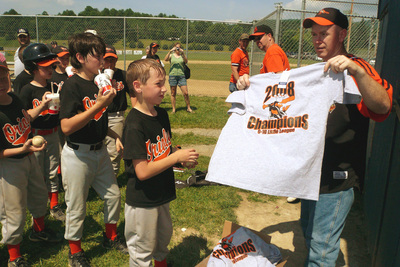 Summersville Wv Orioles Perfect Season T-Shirt Photo