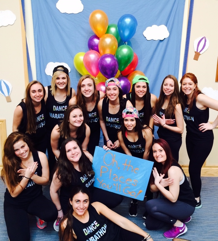 Pi Beta Phi's Dance Marathon: Oh, The Places You'll Go! T-Shirt Photo
