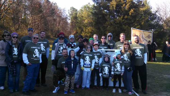 Aaron's  Army   Howard Co. Autism Walk/5 K T-Shirt Photo