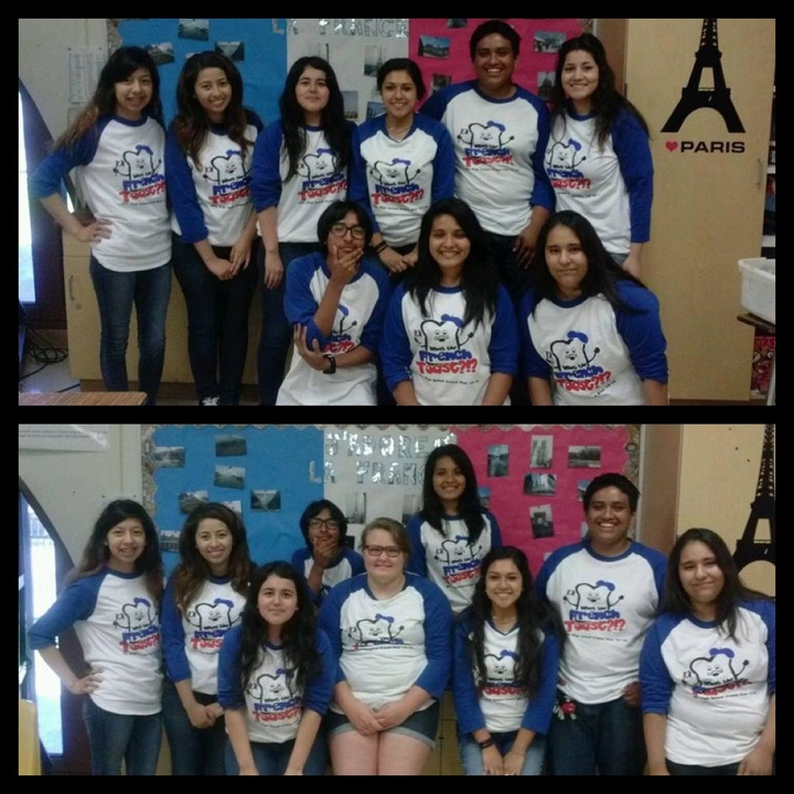 Don Antonio Lugo High School French Club T-Shirt Photo