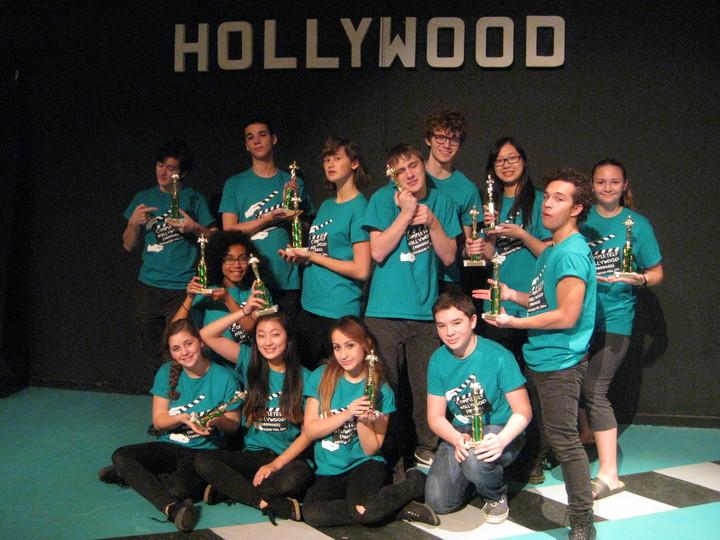 Cast Photo:  Completely Hollywood (Abridged) T-Shirt Photo