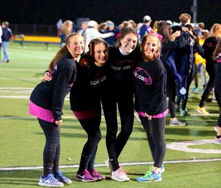 Sen1or5 Run Powderpuff T-Shirt Photo