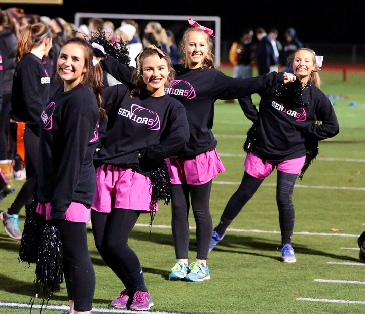 Simsbury Senior Powderpuff Cheerleaders T-Shirt Photo