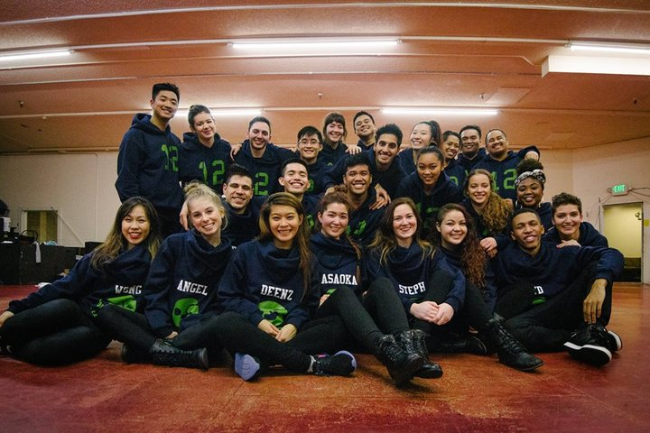 Seattle's 12th Man Dance Family! T-Shirt Photo