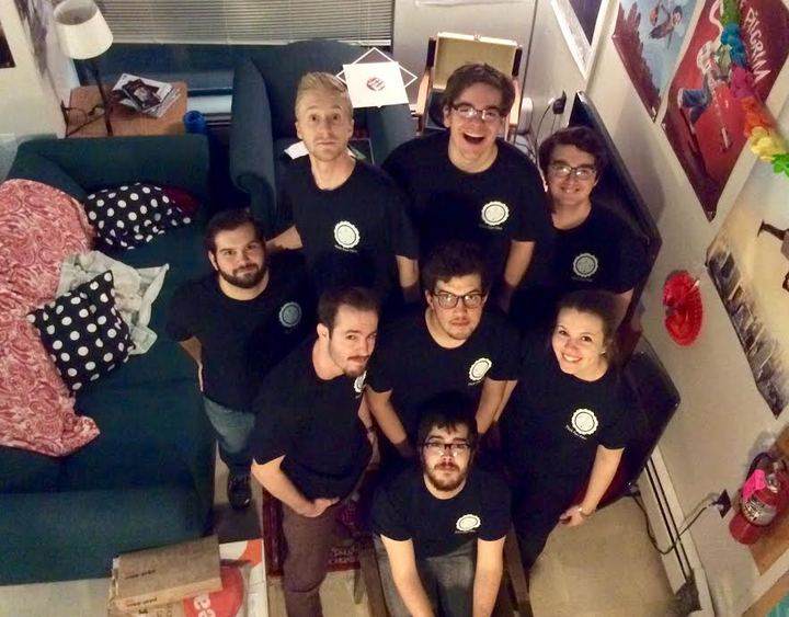 The Runaround Club Production Team! T-Shirt Photo