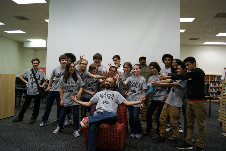 Durham School Of The Arts Game Design Night T-Shirt Photo