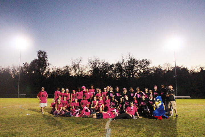 Galileo Magnet High School Powder Puff Football T-Shirt Photo