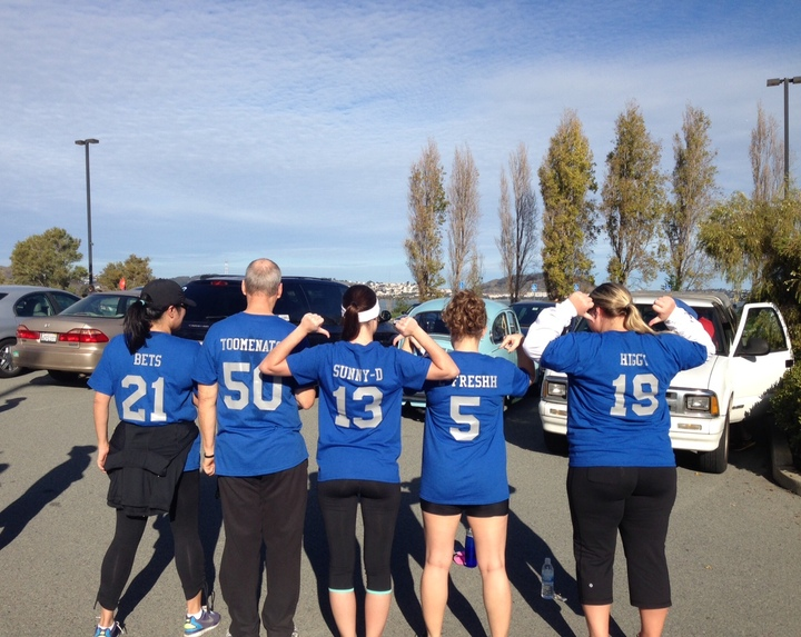 Team Hyatt Sfo 5 K Team T-Shirt Photo