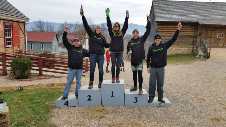 Bikenetic On The Podium Again T-Shirt Photo