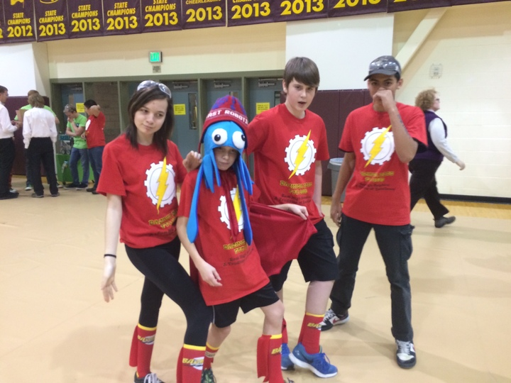 Bazinga Bots Ftc 8539 T-Shirt Photo