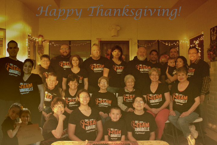 Team Annabelle Thanksgiving T-Shirt Photo