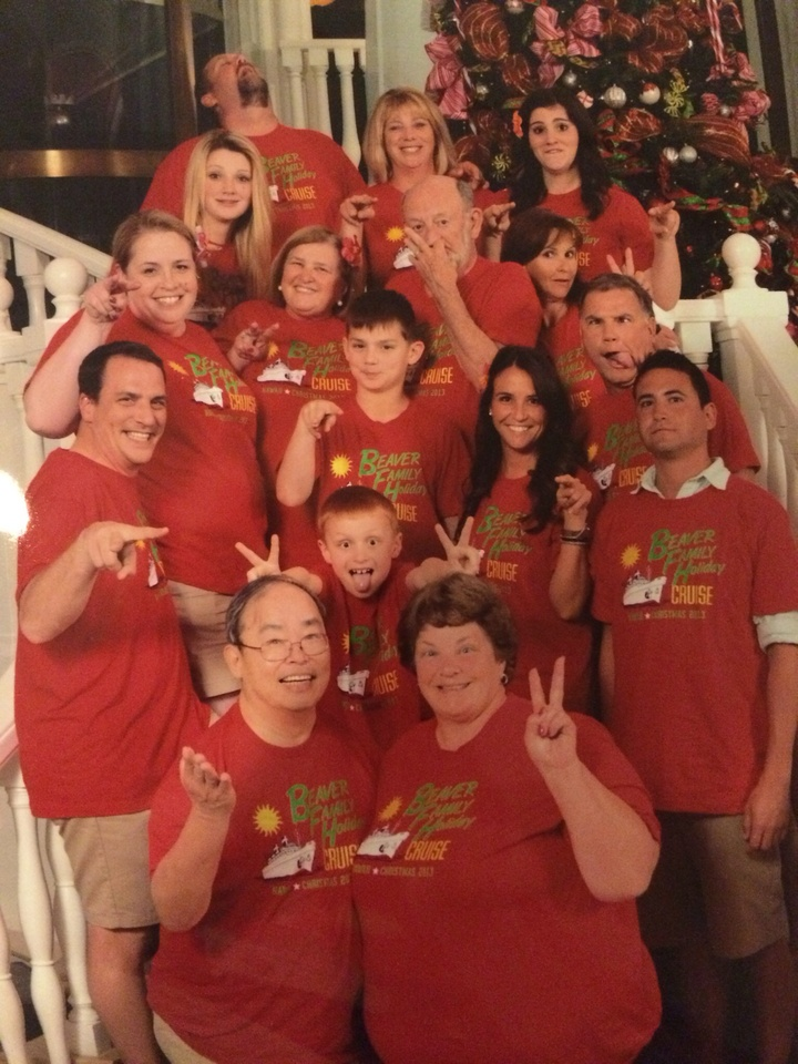 Holiday Family Cruise T-Shirt Photo