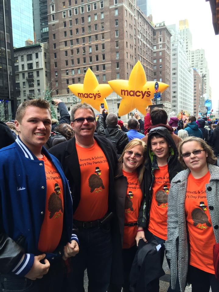 Macy's Day Parade 2014 T-Shirt Photo