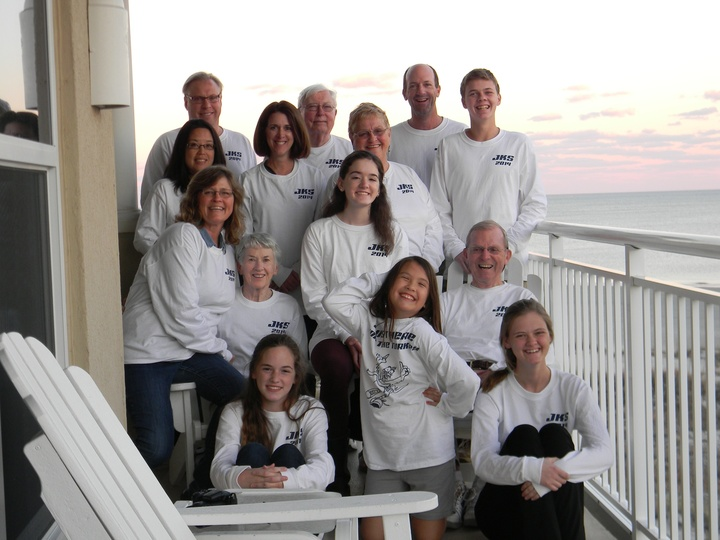 Family Thanksgiving Fun T-Shirt Photo