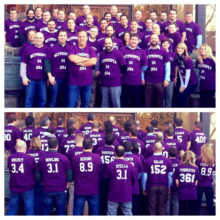Net Prospex Sales Team Rallies For Q4! T-Shirt Photo