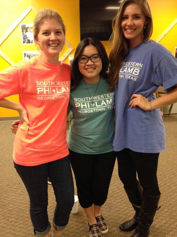 Tri Color Sorority Tees T-Shirt Photo
