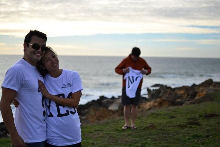 Proposal Rae & Gui T-Shirt Photo