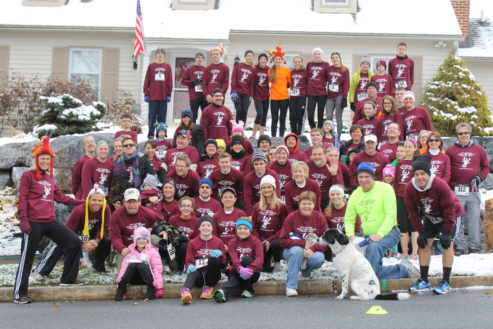 4th Annual Good Hope Farms Turkey Trot T-Shirt Photo