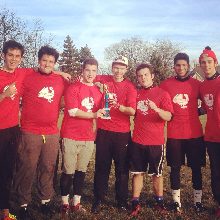 Turkey Bowl 2014 Champs T-Shirt Photo