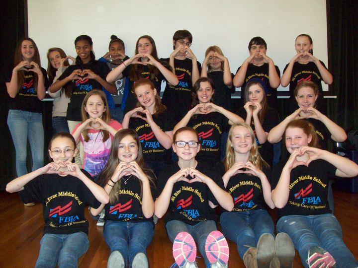 Nrms Future Business Leaders Of America Loves Custom Ink T-Shirt Photo