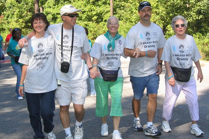 A Walk With Granny T-Shirt Photo