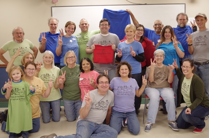 All Different Colors, Same Message! T-Shirt Photo