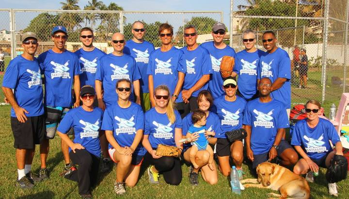Dakar Senegal Sandsharks 2014 2015 Team Photo T-Shirt Photo