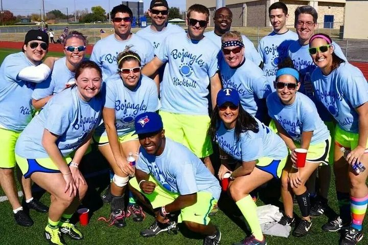 Bojangles Kickball T-Shirt Photo