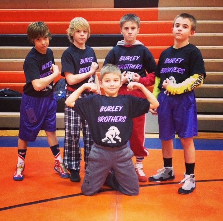 Custom t shirts for burley brothers wrestling shirt for Wrestling tournament t shirt designs