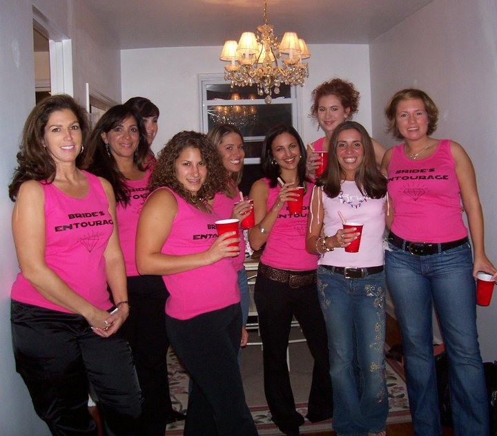 Bride's Entourage T-Shirt Photo