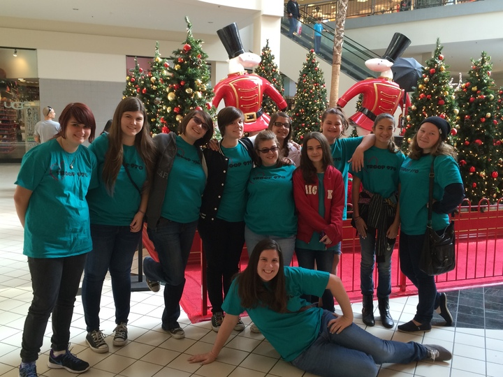 Gs Troop 970 Mall Scavenger Hunt T-Shirt Photo