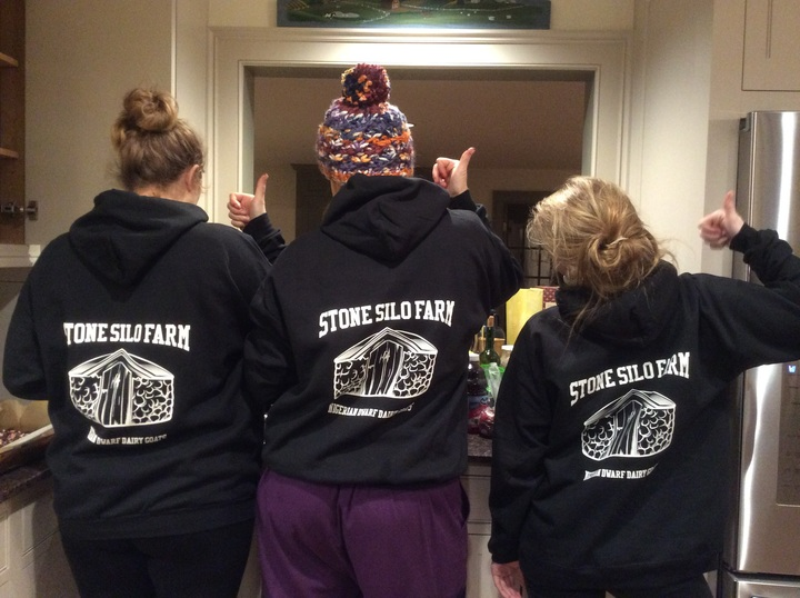 Christmas Eve On The Farm T-Shirt Photo