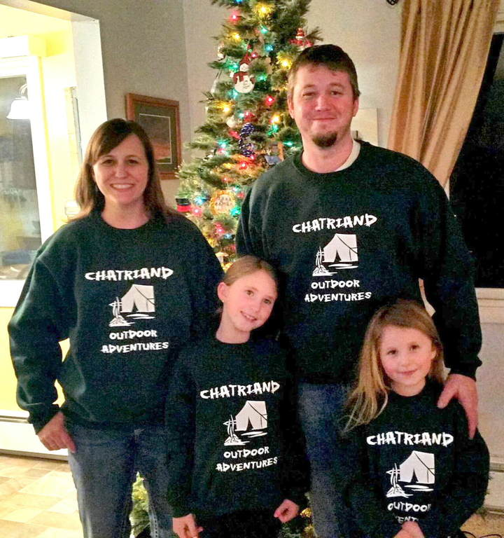 Family Who Couldn't Be With All Of Us For Christmas Dinner 2014  T-Shirt Photo