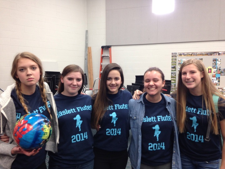 Haslett Flute Section T-Shirt Photo