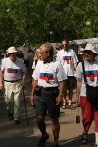 Walking In Uglich T-Shirt Photo