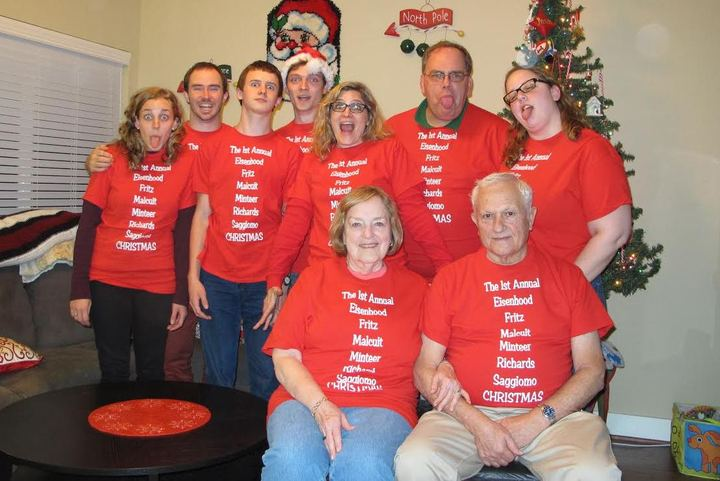 Christmas 2014 T-Shirt Photo
