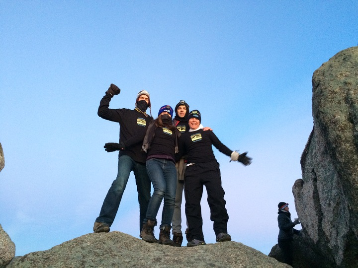 Sunrise On Old Rag Mountain 01/01/2015 T-Shirt Photo