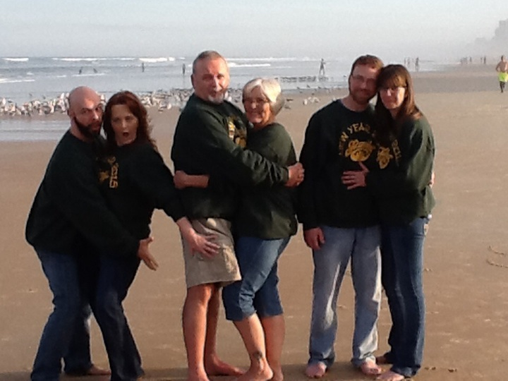 Parents And Children T-Shirt Photo