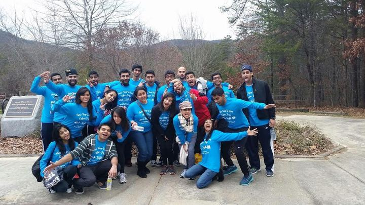 One Crazy Group Of Friends On A Nye Cabin Trip T-Shirt Photo