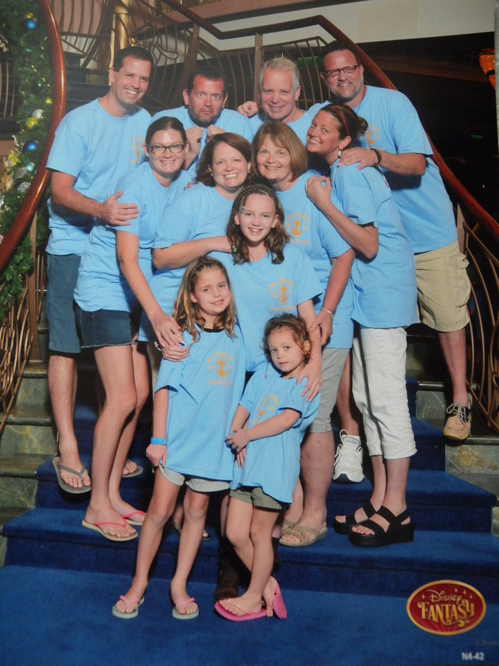 Van Wicklin Family Cruise 2014 T-Shirt Photo
