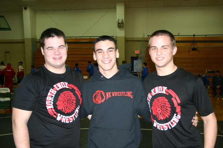 North Knox Wrestling Seniors T-Shirt Photo
