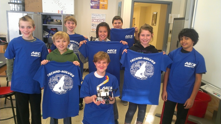 Agcs Robotics Rockin' Team Spirit T-Shirt Photo